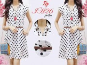IH26 Polka Dress + belt