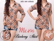 MST496 Burberry Blouse