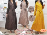 Cindy Button Maxidress