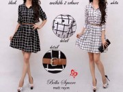 Bella Square Dress + bell