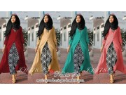 IH178 Nabila Set (dress, celana + pasmina)
