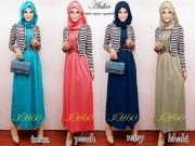 IH60 Aisha + belt (1 set + pasmina)
