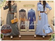 Jodily Maxi Denim + belt