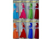 MP540 Gamis (1 set + pasmina)