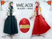 Marc Jacob Maxi + blazer