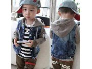 Jaket Kiddy set + inner