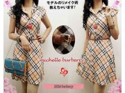 Michelle Burberry Dress + belt