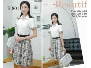 B801 Burberry Dress