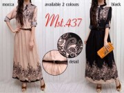 MST437 Dress + belt (lengan pnjng)