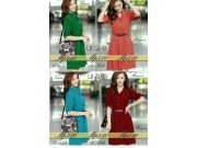 MP510 Dress (tanpa belt)