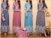 Collar Ethnic Maxi+Belt