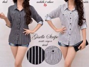 Giselle Stripe Blouse