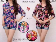 Giselle Flower Blouse