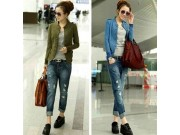 Blazer Casual Knit