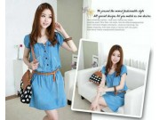 Dolly Denim Dress + belt
