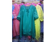 Dress Rayon Bordir