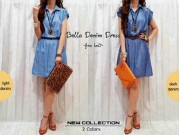 Bella Denim Dress
