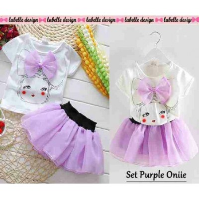 Set Purple Onnie